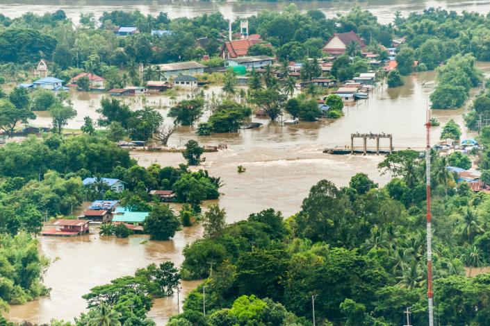 Increasing pressure on natural resources
